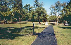 Serpent Mound Pathway © 2002 Mysterious World