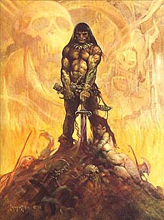 'The Barbarian', © Frank Frazetta