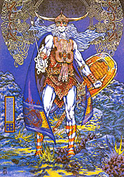 'The Coming of Lugh the Il-Dana', � 1979, Jim Fitzpatrick