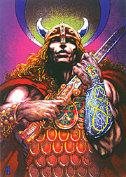 'Nuada of the Silver Arm', � 1980, Jim Fitzpatrick