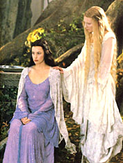 The Elf Maidens Arwen and Galadriel