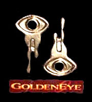 The gold keys from the James Bond film, 'GoldenEye'