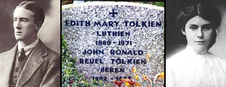 The Gravestone of J.R.R. and Edith Tolkien