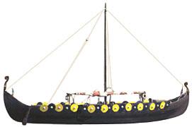 The Dyflin, a reconstructed Viking ship